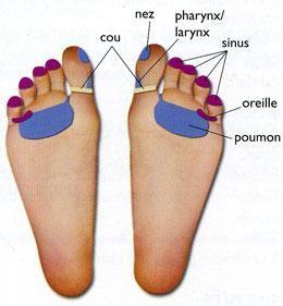 santé,pieds,rhume