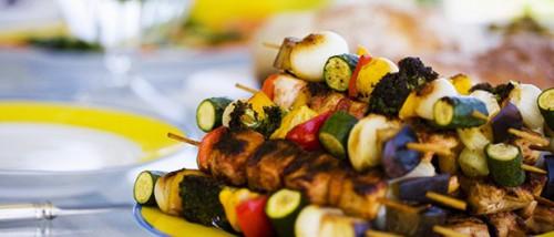 cuisine, aromes,barbecue,pommes,de,terre,robe,champs