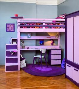 enfants,chambre,petit,espace,lit,bureau,sécurité,radiateur,air