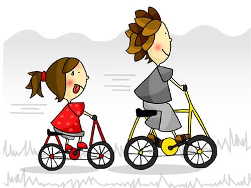 enfants,école,vélo
