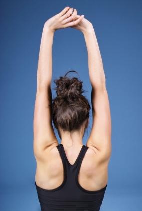 gymnastique,remise,forme,stretching